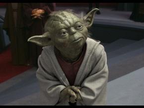 Falar como Yoda difícil é!