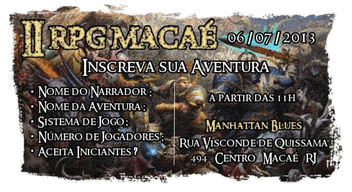 II RPG Macaé